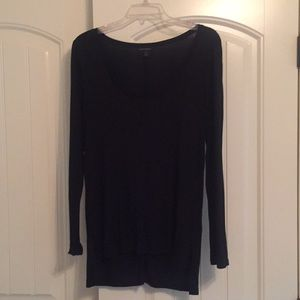 Banana Republic black long sleeve shirt. Medium
